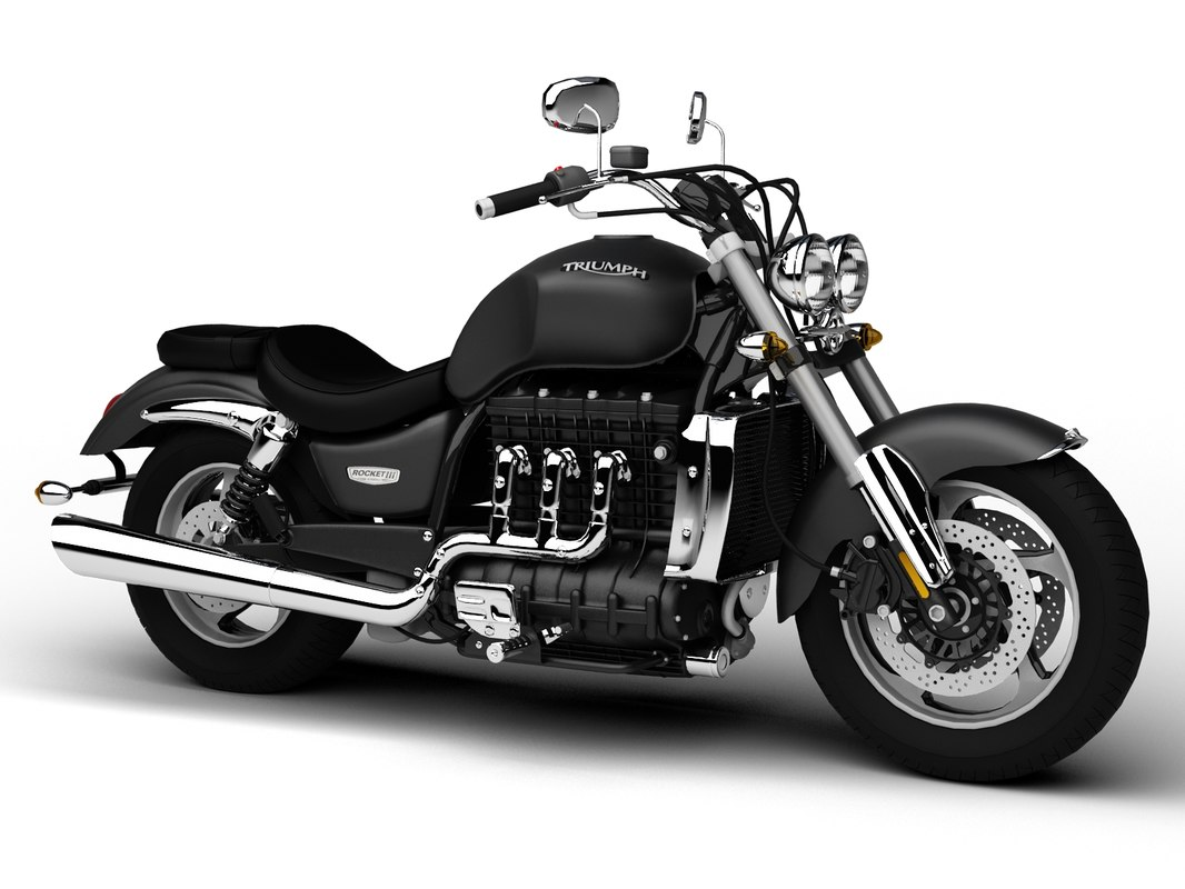 3d triumph rocket iii roadster model. Black Bedroom Furniture Sets. Home Design Ideas