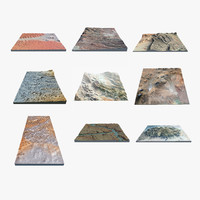 3d model 9 landscapes