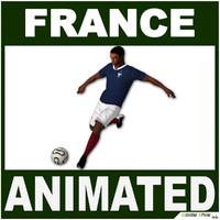 france jersey ball 3d model