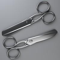 3d scissors model