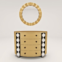 Bedroom chest of drawers