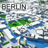 3ds max berlin city
