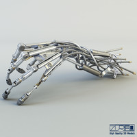 maya robotic hand