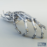 3d model of robotic hand