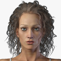 woman body 3d max