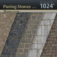 Paving Stones Textures 1024x1024 vol.8