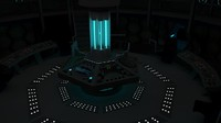 3ds max interior tardis