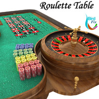 maya roulette table