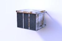 air conditioner 3d obj