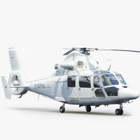 3dsmax eurocopter 365 as365