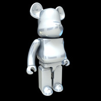 3d cartoon metal model
