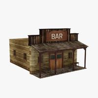 old bar table obj