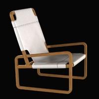 3d max chair zeffirelli ochre