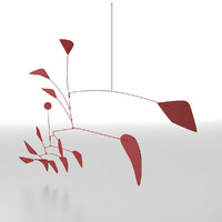 alexander calder big red 3ds