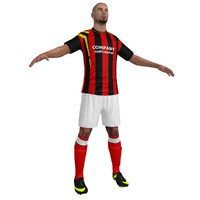 x soccer player