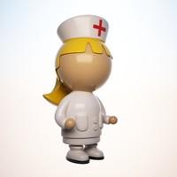 max nurse character cartoon