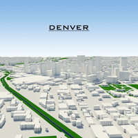 maya denver cityscape build