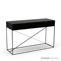 3d gramecry mirrored console