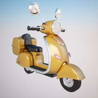 motorcycle cycle 3d max