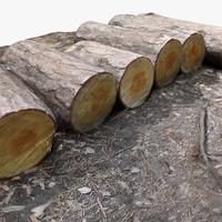 3d tree log 3 -