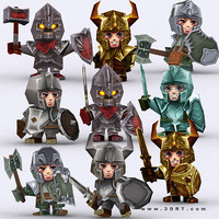 3ds max realm fantasy characters -