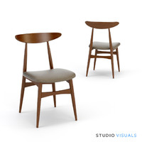 kaia dining chair 3d model