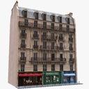 Townhouse 3D models
