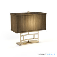 alcott table lamp 3d max