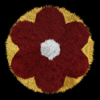 3ds max carpet flower