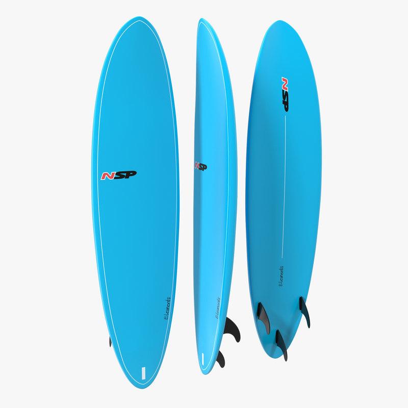 3d model of Surfboard Funboard 01.jpg