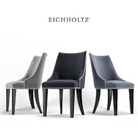 3d model dining chair bermuda eichholtz