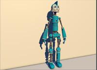 3d robots model