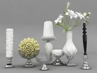 decorative set 3d max