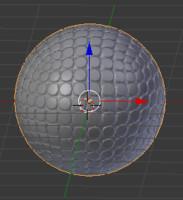 golfball 3d blend