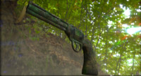old smith wesson 3d obj