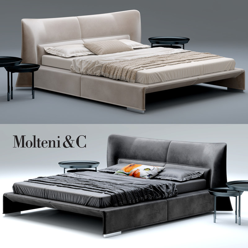 3d glove bed molteni model. Black Bedroom Furniture Sets. Home Design Ideas
