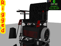 3ds max 9 power chair