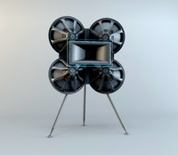 3ds max acoustic reflector 218q