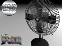 3d table fan