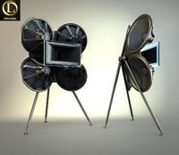 acoustic wave218q 3d model