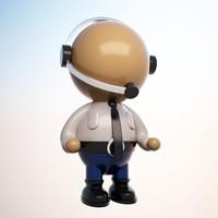 cartoon operator character max