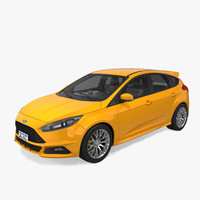 focus st 2015 3d model