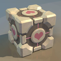 weighted companion cube portal 3ds free