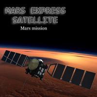 3d model mars express