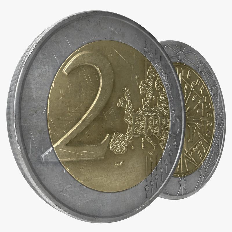 2 Euro Coin France 3d model 01.jpg