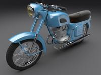 3d motorcycle k-175 model