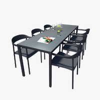 3dsmax furniture outdoors table