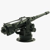 3d flak gun model