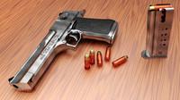 desert eagle pistol obj