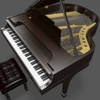 maya grand piano